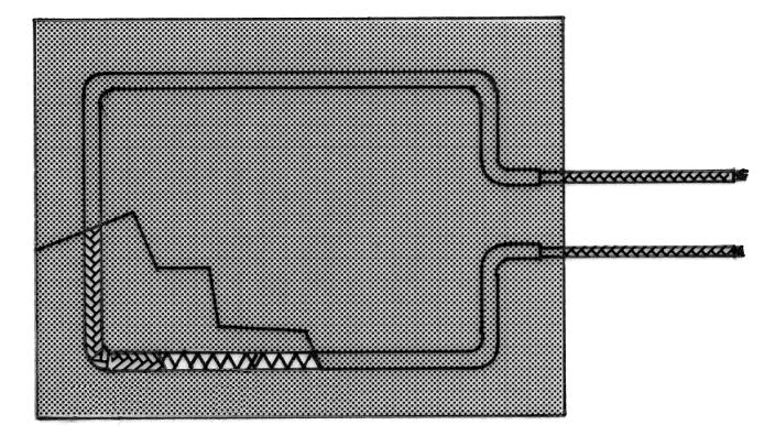 Custom Foil Heater Diagram