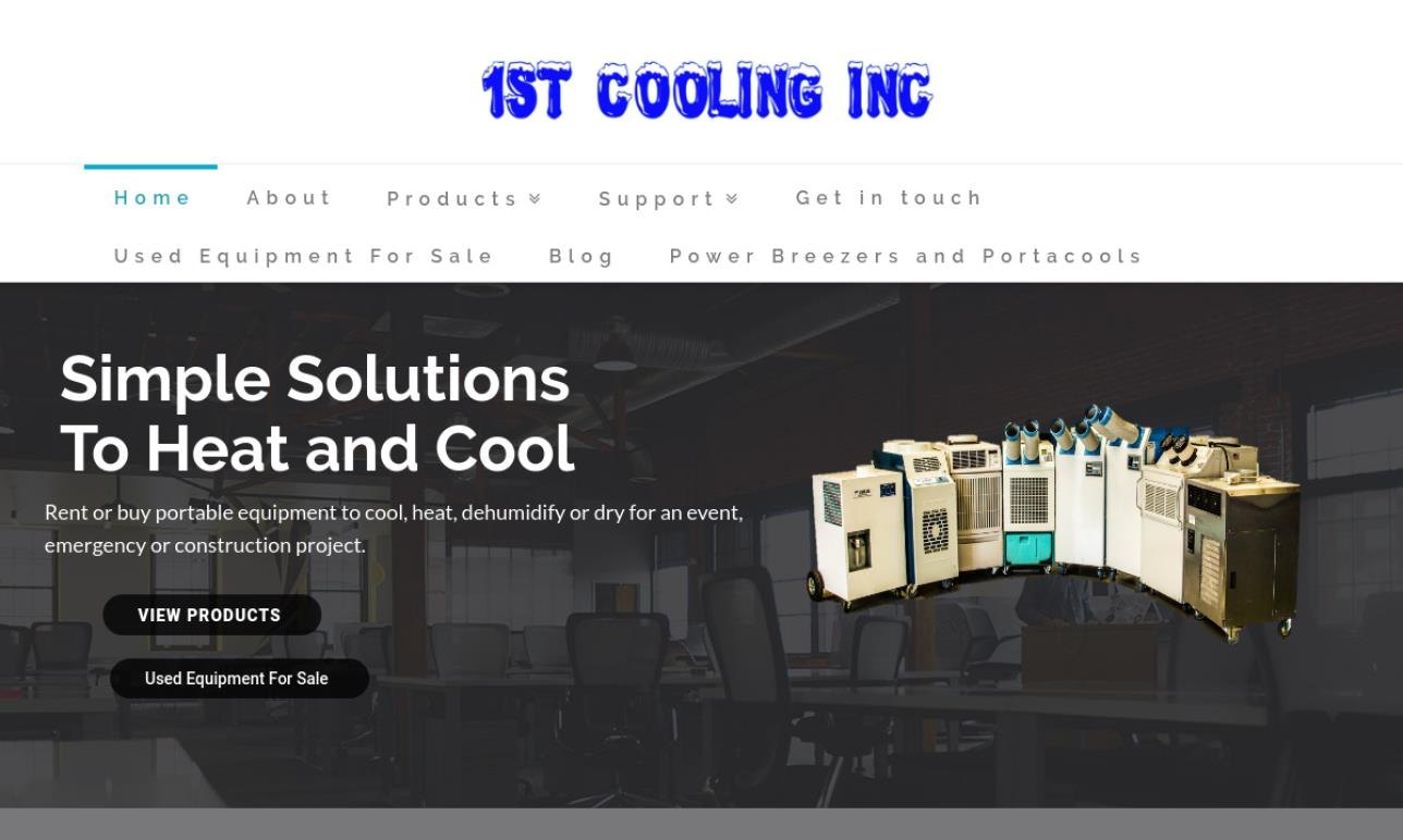 1st Cooling, Inc.