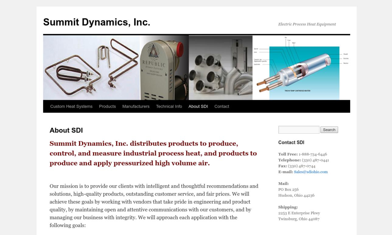 Summit Dynamics, Inc.