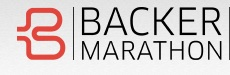 Backer Marathon, Inc. Logo